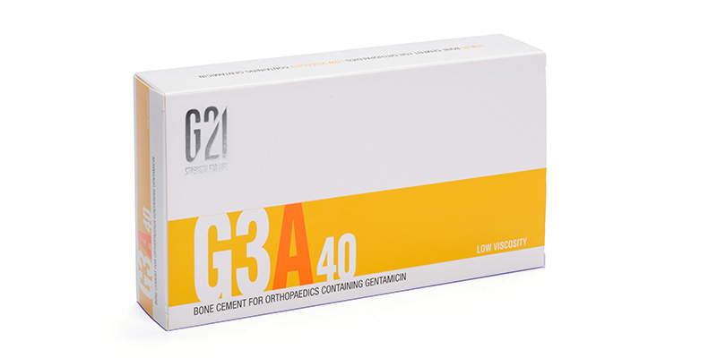 G21 - Ortopedia - Cemento osseo G3A40